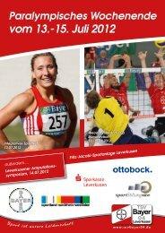 integrative Sportfest - Deutscher Behindertensportverband