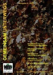 GEMEINSAM UNTERWEGS - Kreuzbund-DV-Mainz