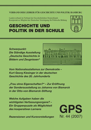 GPS 44 - Umschlag, page 1-4 @ Normalize - Verband der Lehrer für ...