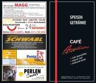 SPEISEN GETRÄNKE - Cafe Amadeo Bad Reichenhall