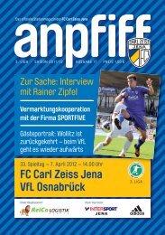 FC Carl Zeiss Jena VfL Osnabrück