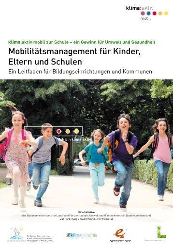 Mobilitätsmanagement für Kinder, Eltern und Schulen - Forum ...
