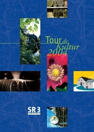 Tour de Kultur 2004 - Saarländischer Rundfunk