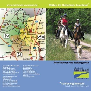 IZ PI SE - Holstein - Unterelbe und Auenland