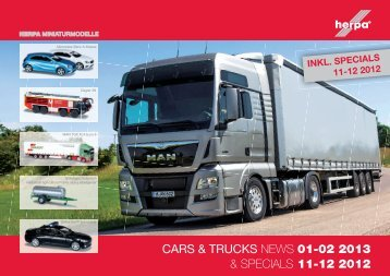 cars & trucks news 01-02 2013 & specials 11-12 2012 - Herpa