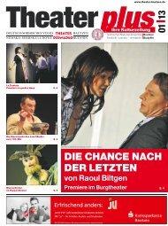 Theaterzeitung Januar 2013 - Deutsch-sorbisches Volkstheater