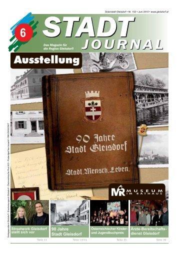 -OURNAL - Stadtgemeinde Gleisdorf