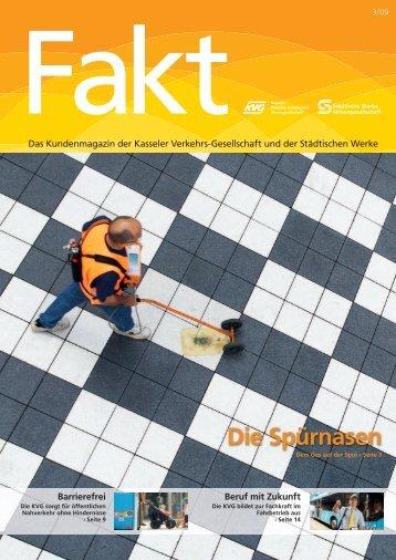 Fakt 03/2009 - Städtische Werke AG