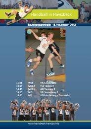 MJB 1 - SW Havixbeck Handball