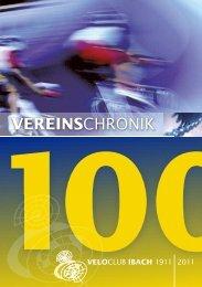 Vereinschronik - 100 Jahre Veloclub Ibach - VC Ibach