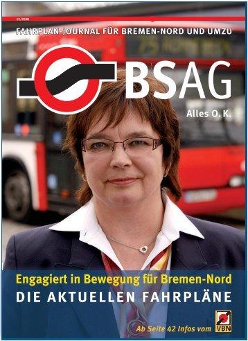 die aKtuellen fahrpläne - BSAG