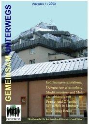 2003 Ausgabe 1, Dateigröße 2,9 MB - Kreuzbund-DV-Mainz
