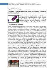 Einparken – Ein ideales Thema für experimentelle Geometrie und ...