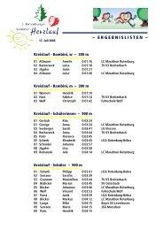 Ergebnislisten ´05 - Herz- und Kreislaufzentrum Rotenburg