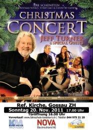 Christmas Concert Flyer Gossau