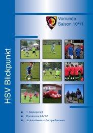 Blickpunkt Ausgabe 27 - Hildisrieder Sportverein