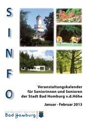 Sinfo Januar/Februar 2013 - Bad-Homburg