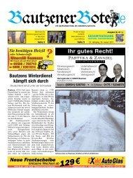 26.Januar 2013 - BautzenerBote.de