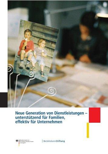 Neue Generation von Dienstleistungen - Bundesministerium für ...