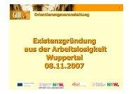 Orientierungsseminar Wuppertal 071108 - kompetenzhoch3