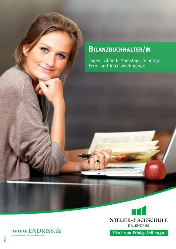 Bilanzbuchhalter - Steuer-Fachschule Dr. Endriss