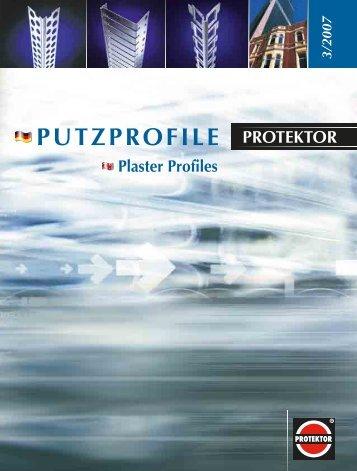 Kantenprofile - Protektor