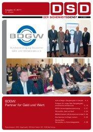Andreas Burgdorf Obmann im DIN-Arbeits- ausschuss Wach - BDGW