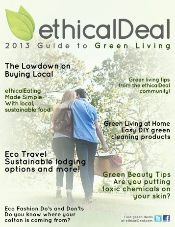 ethicalDeal%E2%80%99s%20Guide%20to%20Green%20Living