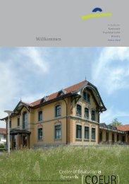 COEUR: 1. Semester-Programm 2013 (1473 kb, PDF - Kantonale ...