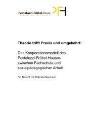 Theorie trifft Praxis und umgekehrt: Das Kooperationsmodell des ...