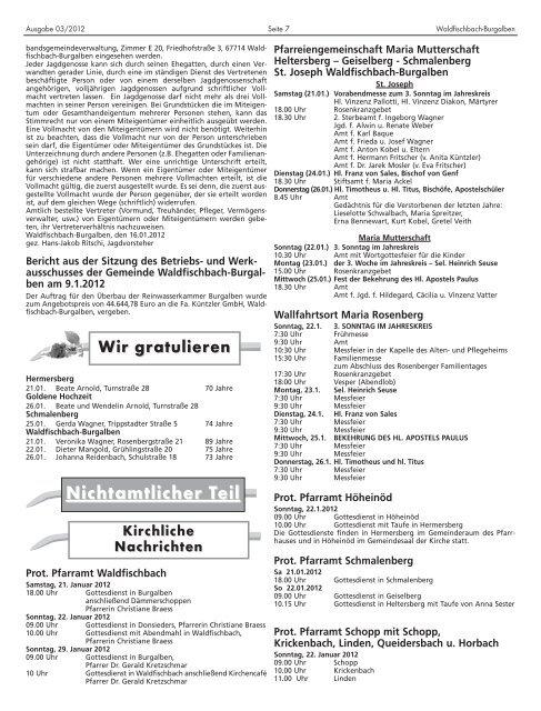 Waldfischbach Bur