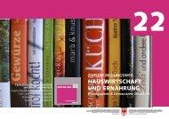 Programm 2012/2013 - Fachschule für Hauswirtschaft und ...