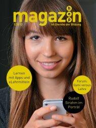 hep magazin 1/2012 - h.e.p. verlag ag, Bern