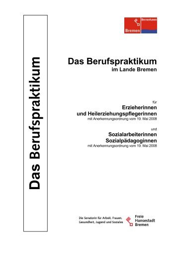 Das Berufspraktikum - Bremen