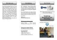 Dreijährige Berufsfachschule Altenpflege - BBS-Holzminden
