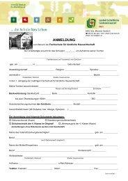 Fachschule für ländl. Hauswirtschaft - LLA IMST