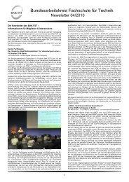 Bundesarbeitskreis Facharbeit für Techniker 04 2010 - Euro-Prof