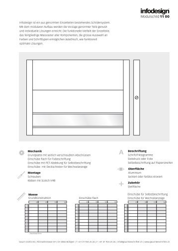 infodesign.pdf - Gauch Grafik AG