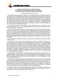 Gesetz über die Teilnahme der Jugend am Aufbau - DDR-Schulrecht