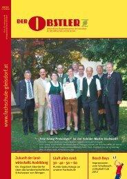 www .fachschule-gleisdorf.at - Fachschule für OBST-Wirtschaft und ...