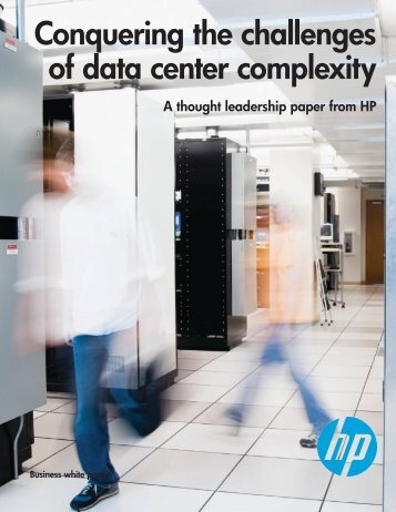 Conquering the challenges of data center complexity