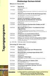 in Quedlinburg Fachschule für Gartenbau - Sachsen-Anhalt