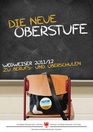 Broschüre in deutscher Sprache - Südtirol macht Schule