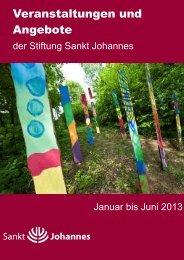 Veranstaltungen und Angebote - Stiftung Sankt Johannes