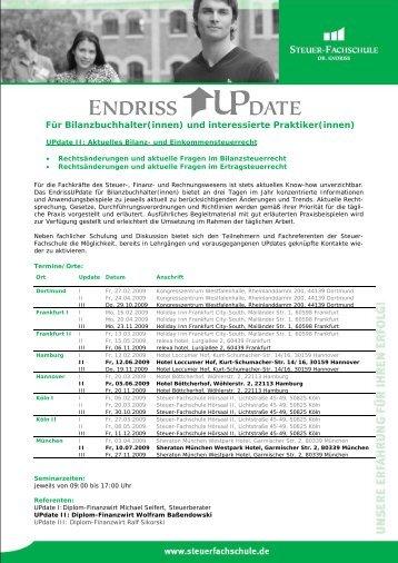 Für Bilanzbuchhalter(innen) - Steuer-Fachschule Dr. Endriss