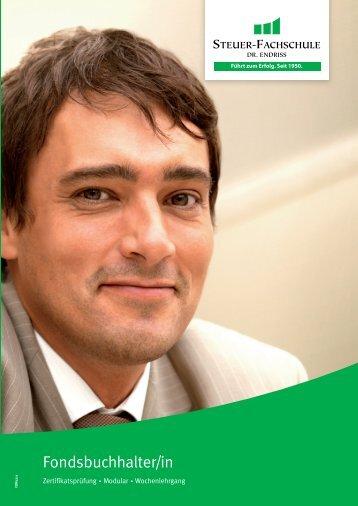 Fondsbuchhalter/in - Steuer-Fachschule Dr. Endriss