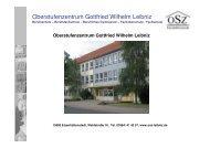 Oberstufenzentrum Gottfried Wilhelm Leibniz - qcw