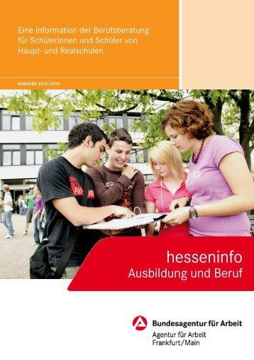 hesseninfo - planet-beruf regional - Planet Beruf.de
