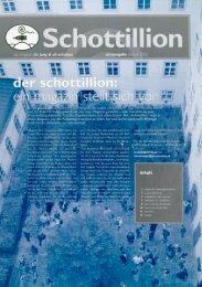 Schottillion Ausgabe Nr. 1 - Alt-Schotten