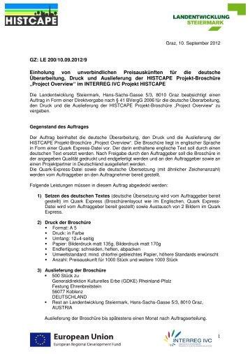 Dokument - Landentwicklung - Steiermark
